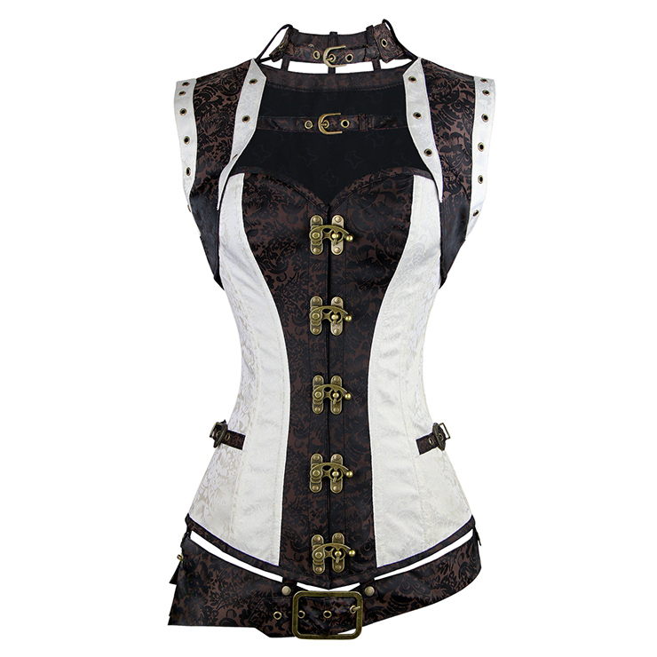 de92256955 Two Toned steampunk corset M133561